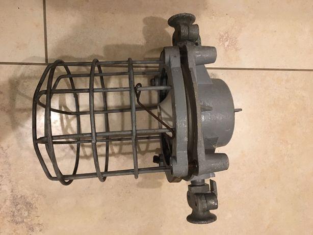 lampa przemysłowa loft style industrial PRL tanio!!!