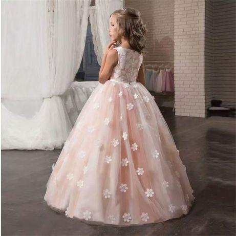 Новое нарядное платье на девочку, святкове нарядне плаття рр.120-170