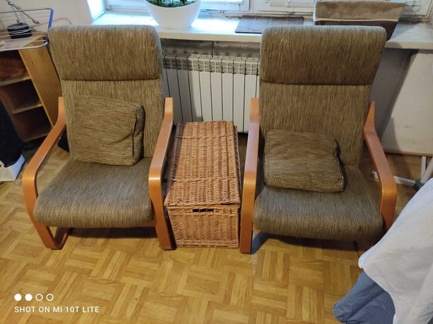 Komplet wypoczynkowy kanapa plus dwa fotele