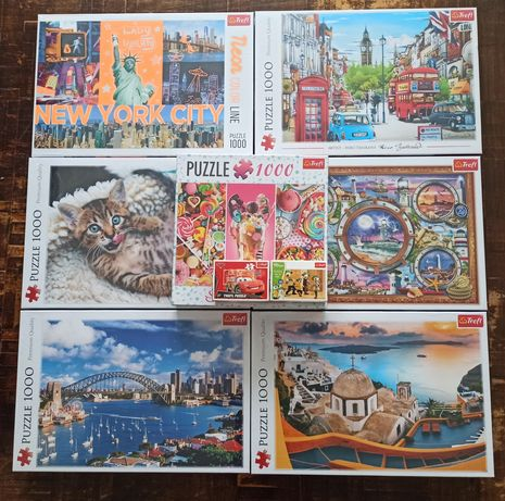 Nowe puzzle Trefl 1000