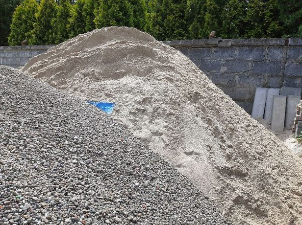 Żwir 2-16 płukany ,Pospółka do wylania betony,wylewki fundamentów i.t.