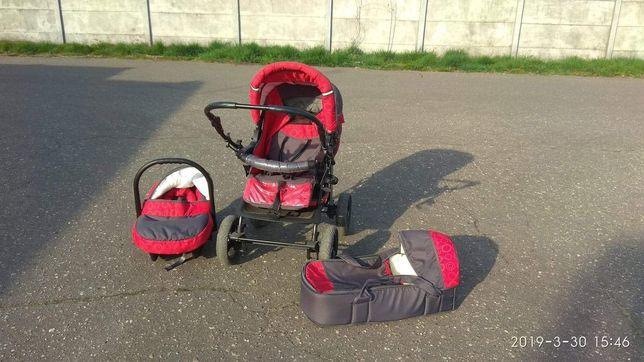 Wózek dziecięcy 3w 1