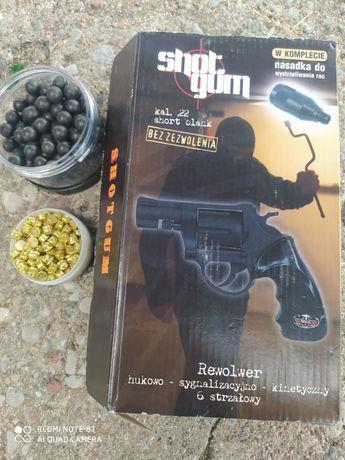 Pistolet hukowy na kule gumowe