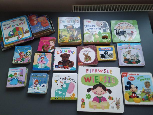 Zestaw książki książeczki dla dzieci