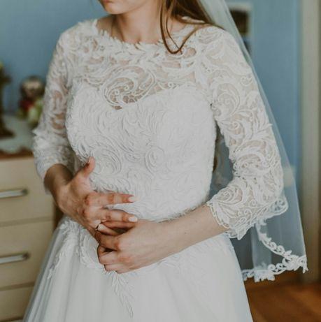Suknia ślubna Agnes biała