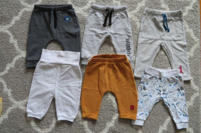 Spodnie niemowlęce 5.10.15. Rozmiar 62/68.
