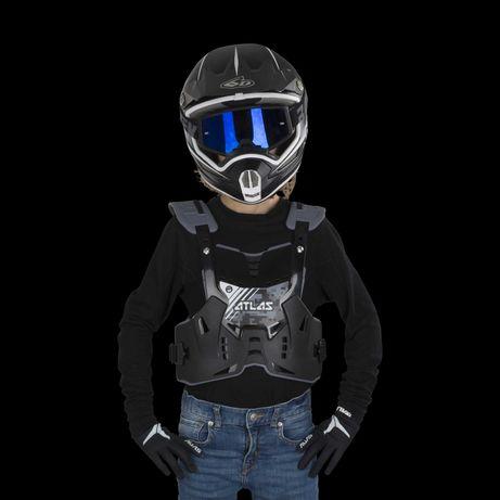 Ochraniacz klatki piersiowej  buzer Atlas Defender Stealth dziecięcy