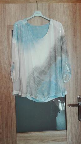 Elegancka włoska bluzka rozmiar ,46