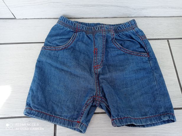 Шорты джинсовые на мальчика р.92 98 см