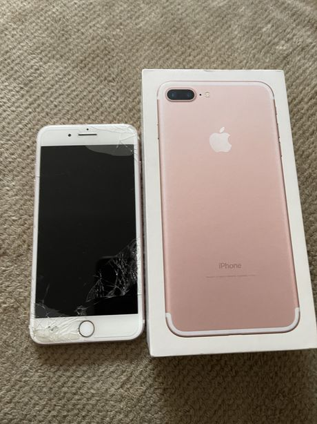 Iphone 7 plus 32 g zbity ekran