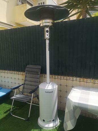 Aquecedor exterior galp hotspot capa proteção cogumelo garantia 2023