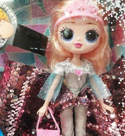 Кукла в платье, Айсберг светящийся Кукла для девочек