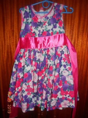 нарядное платье дев