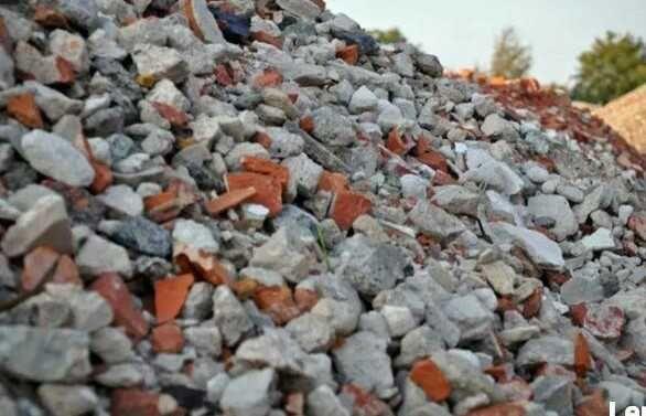 Miejsce na gruz beton
