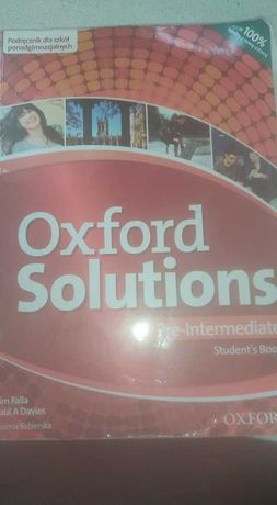 Oxford Solutions podręcznik