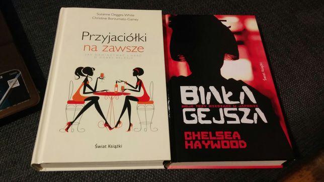 """Książki """"Biała gejsza"""" oraz """"Przyjaciółki na zawsze"""""""