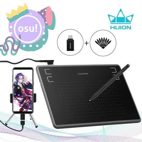 Новый! HUION H430PГрафический планшет OSU! аналог WACOM Intuos