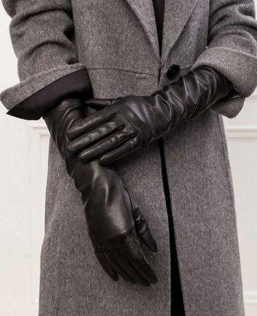 Высокие кожаные перчатки BGN  Dior parosh prada Millen