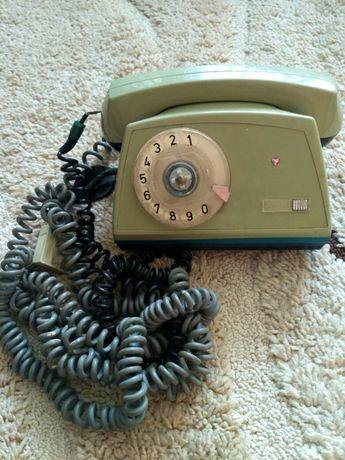 Телефонний апарат. Телефонный аппарат на диск