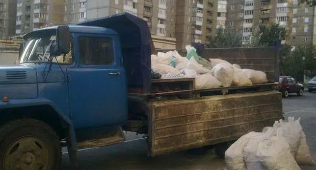 Вывоз мусора. Вывезти ветки, мебель, глину, строймусор, хлам и прочее.
