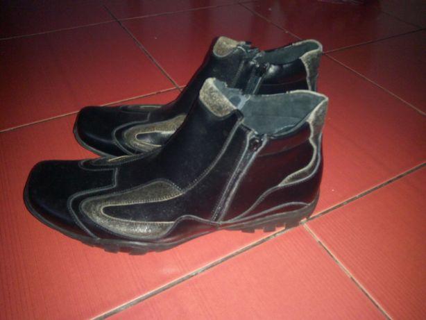 Ботинки сапоги кроссовки кеды слипоны спортивные туфли зимние кожа 41р