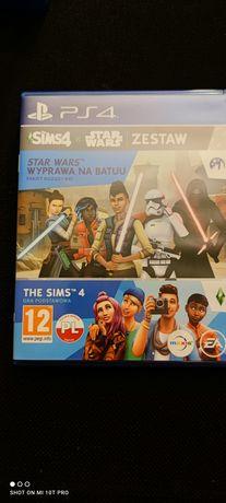 Sims 4 Star Wars Wyprawa na Batatu PL Zestaw  PlayStation 4 PS4