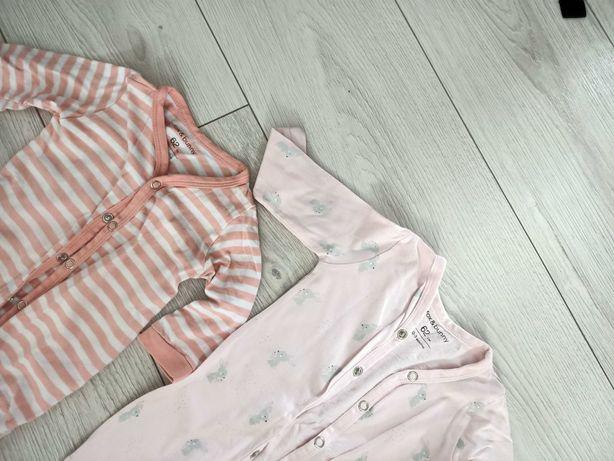 Pajacyki piżamki dla dziewczynki 2 szt Sinsay
