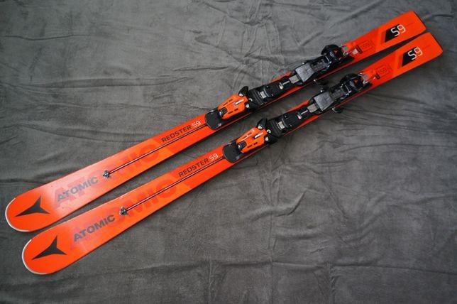 Atomic Redster S9 159 cm r11m 2018r SL ST SC narty slalomka