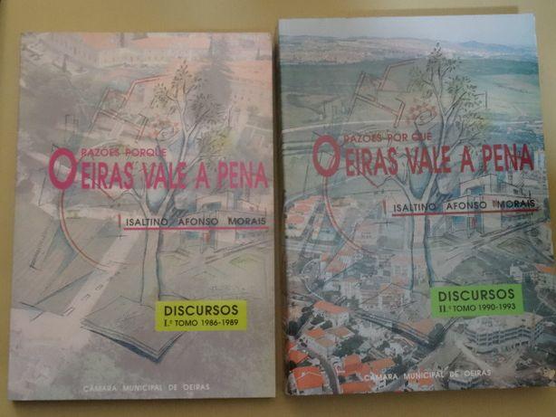 Razões Porque Oeiras Vale a Pena de Isaltino Morais - 2 Volumes