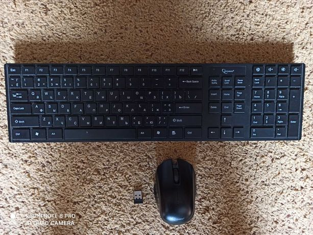 GEMBIRD беспроводная клавиатура и мышь