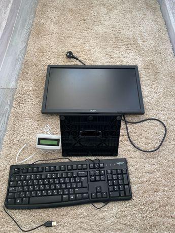Компьютер с программой 1С