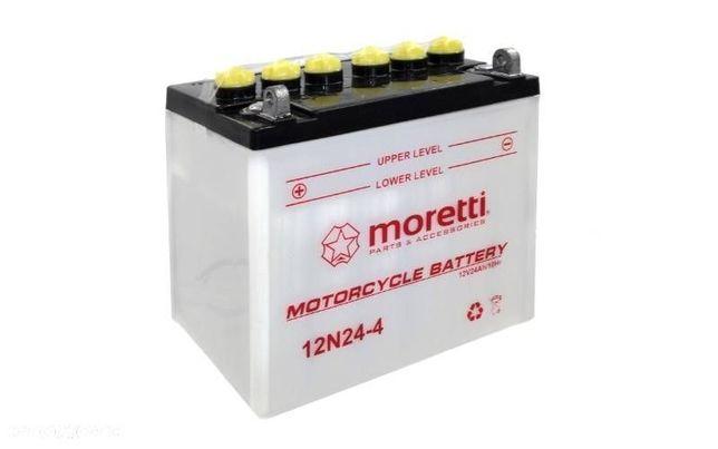 Akumulator kwasowo-ołowiowy 12N24-4
