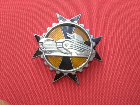 Odznaka 3 batalionu pancernego w warszawie