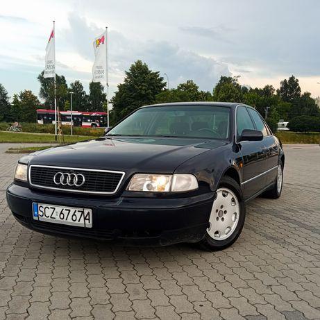 Audi A8 D2 3.7 V8 gaz,hak SPRAWNA KLIMATYZACJA Quattro