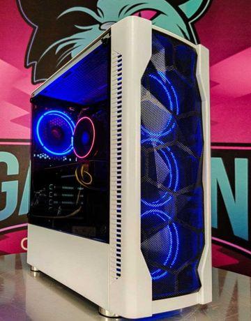Компьютер пк для игр и работы AMD Райзен 1600 4 ГБ R9 380 ССД 120