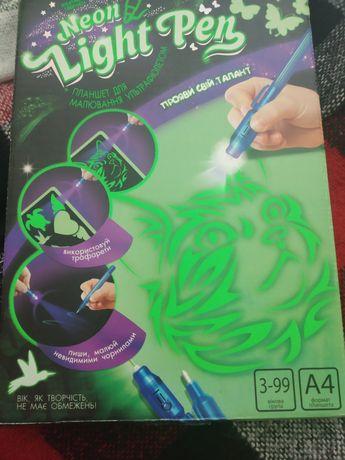 Планшет для малювання ультрафіолетом