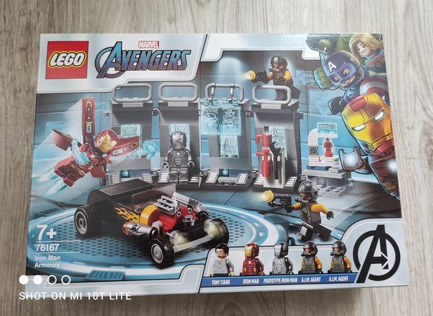 Lego 76167 Marvel Super Heroes Zbrojownia Iron Mana