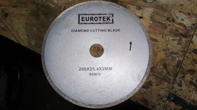 Tarcza diamentowa do gresu 200x25.4x2mm