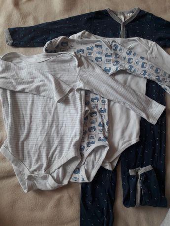 Zestaw 3x body 1x pajac