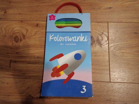 Kolorowanki z grubym obrysem z pisakami nowe dla maluchów