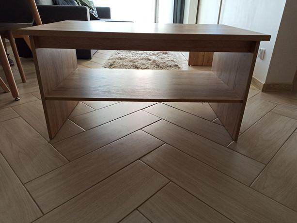 Ława stolik kawowy 100 x 60 cm CRAFT ZŁOTY