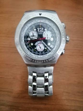 Relógio Swatch Irony Get Fly Back Aviator