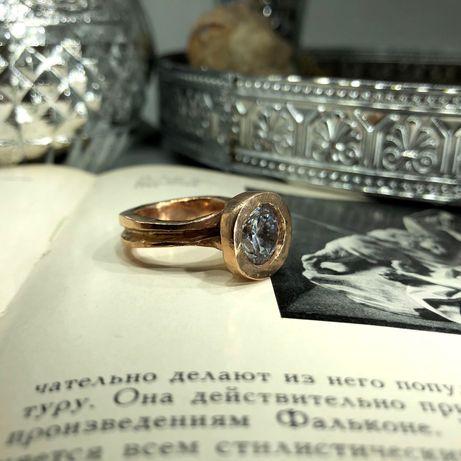 Кольцо «Неэра» бронза, позолота 18К (750 проба)