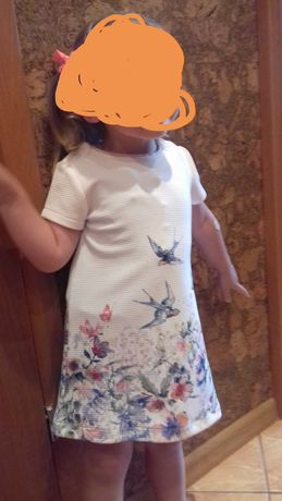 Sukienka dla dziewczynki 92 cm Next