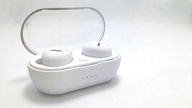 Беспроодные наушники в кейсе Bose TWS 5 White