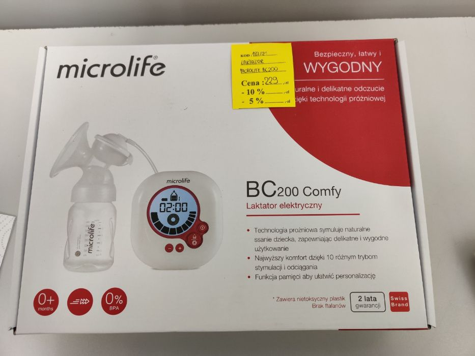 Laktator Elektryczny MicroLife BC200 * Lombard Madej Gorlice