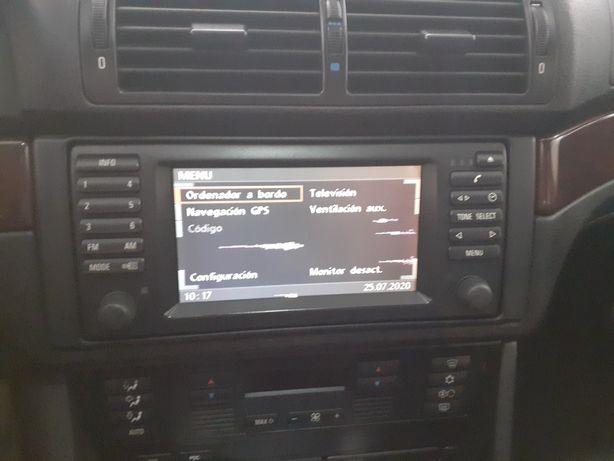 BMW e39 e38 e53 Monitor original caixa CDs  modulo GPS radio bm24