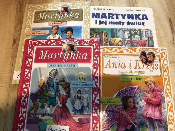 Komplet książek W. Chotomskiej o Martynce
