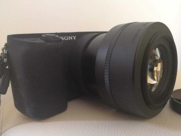 'Sony a6000 + 16-50 + Sigma C 30 1.4 - gwarancja 2 lata