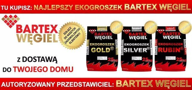 Kostka Orzech Ekogroszek BARTEX GOLD SILVER opał węgiel